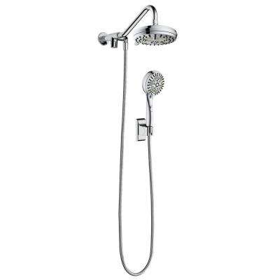 Oasis 6-Spray Hand Shower and Showerhead Combo Kit in Chrome