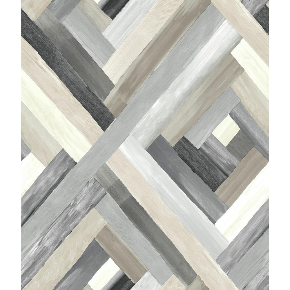 56 sq. ft. Wynwood Geometric Wallpaper