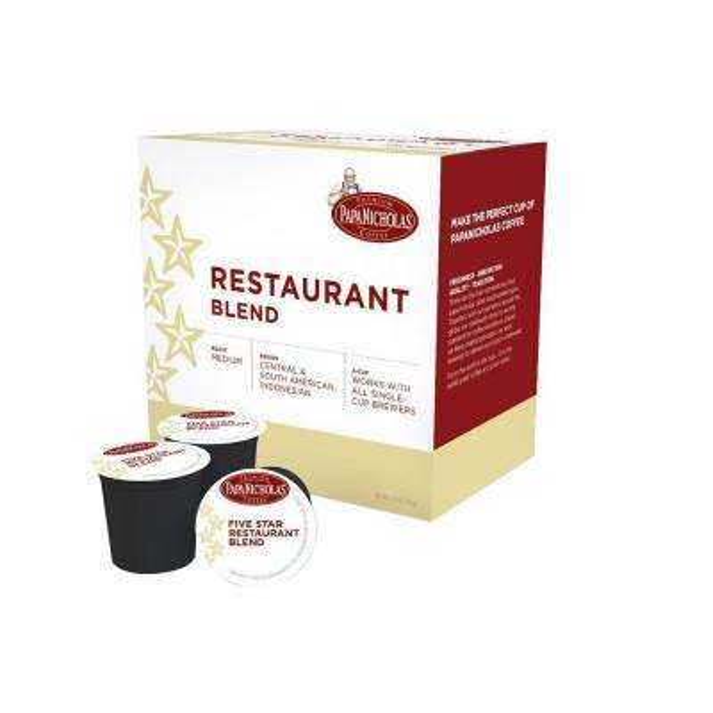 5-Star Restaurant Blend Coffee (72-Cups per Case)