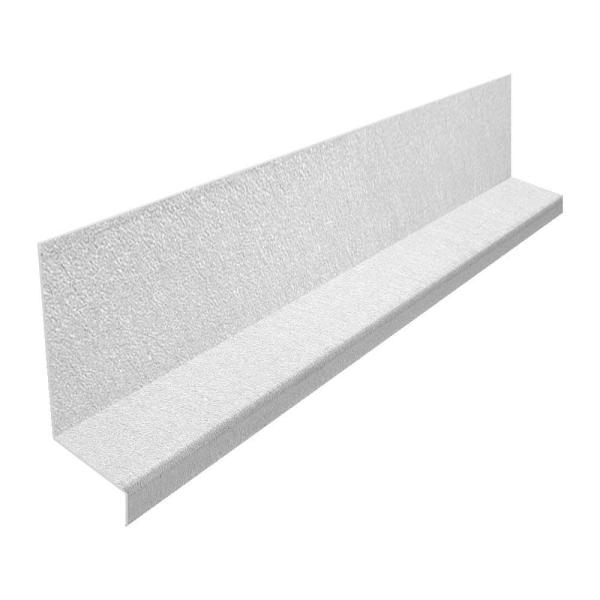 Gibraltar Building Products 1 In X 10 Ft Galvanized Steel Z Bar Flashing Szb1g 2 The Home Depot