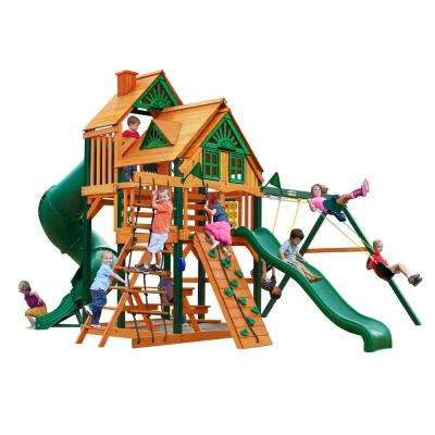 Great Skye I Treehouse Swing Set with Timber Shield