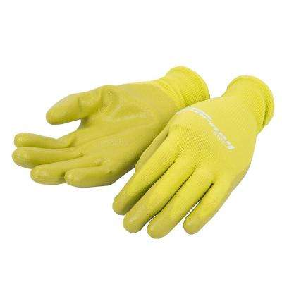 Kid's One Size Fits Most Nitrile Foam Dipped Bamboo Gloves