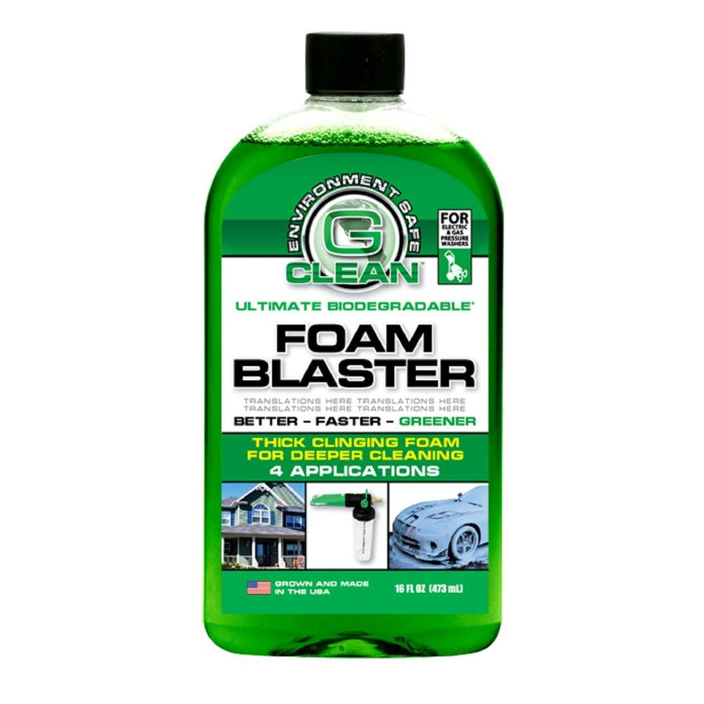 Green Earth G-Foam Blaster Concentrate for G-Clean Foamer Pressure Washer Nozzles-DISCONTINUED