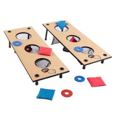 2-in-1 Washer Pitch and Beanbag Toss Set