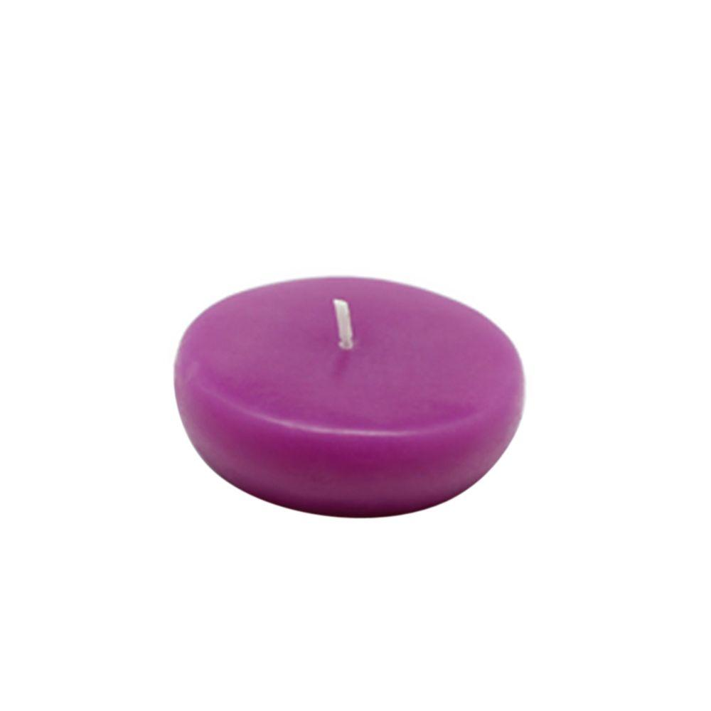 2.25 in. Purple Floating Candles (Box of 24)