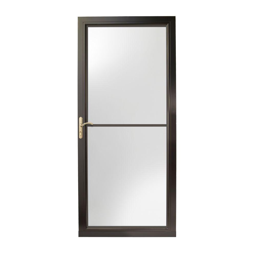 Black - Full-view - Storm Doors - Exterior Doors - The Home Depot