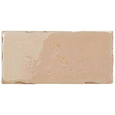 Novecento Subway Canela 2-1/2 in. x 5-1/8 in. Ceramic Wall Tile (6.16 sq. ft. / case)