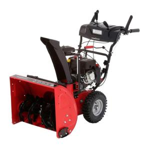 2 stage snow blower powersmart 24 in 212cc 2 stage gas snow blower with 28976