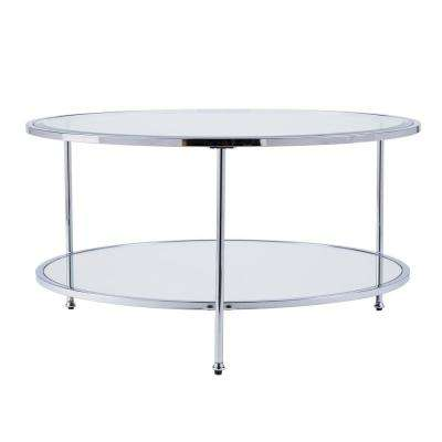 Cillian Chrome Cocktail Table