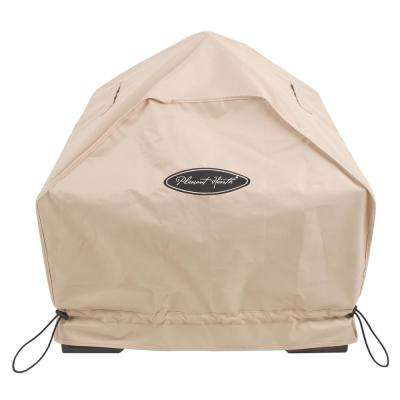 Small 27 in. Square Fire Pit Cover