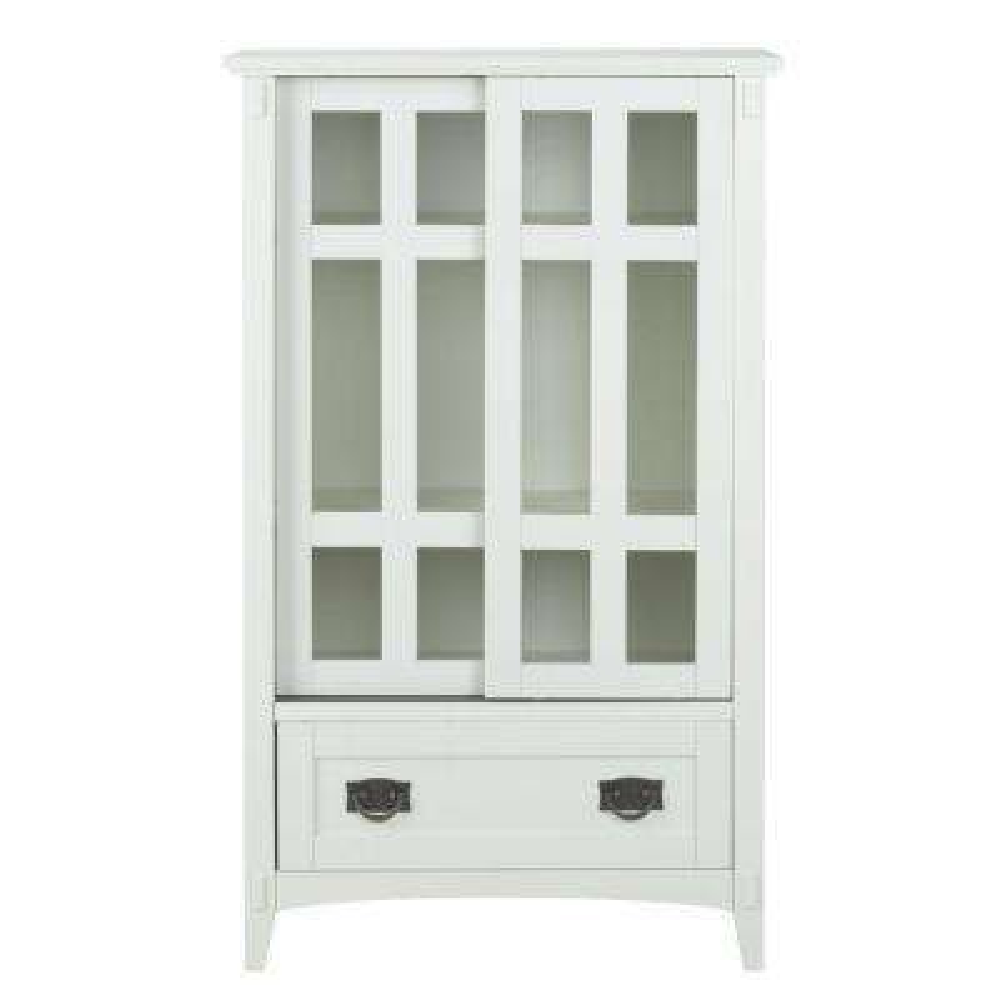Artisan White Storage Cabinet