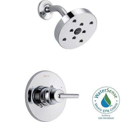 Trinsic 1-Handle 1-Spray Shower Faucet Trim Kit in Chrome (Valve Not Included)