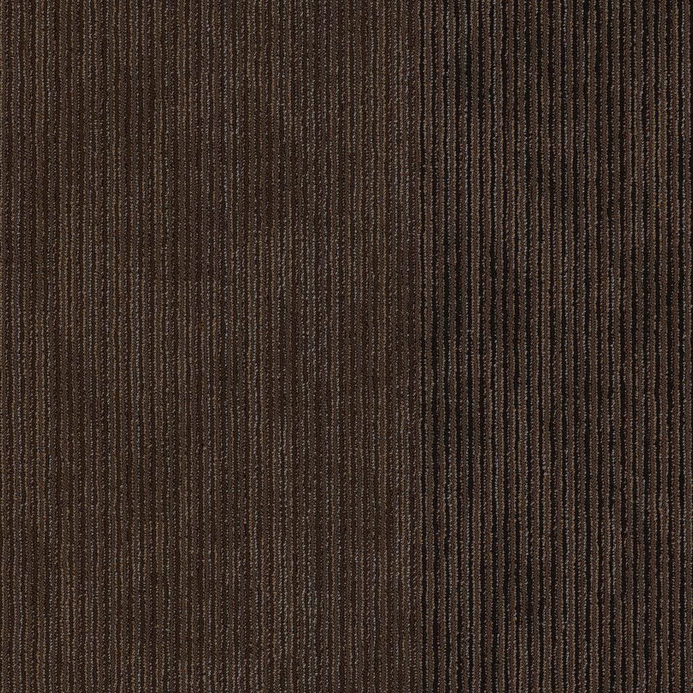Freeform Musing Loop Pattern 24 in. x 24 in. Carpet Tile (20 Tiles/Case)