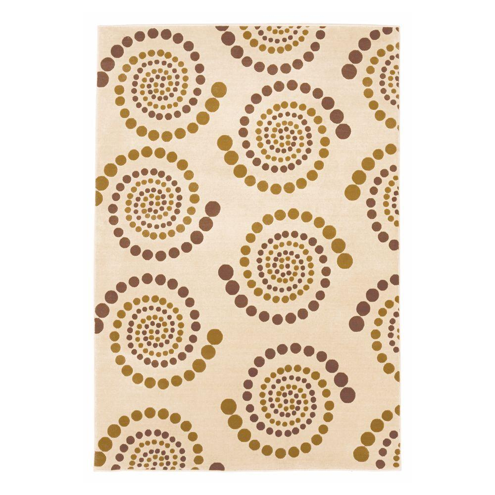 Kas Rugs Moda Promotion Ivory 7 ft. 7 in. x 10 ft. 10 in. Area Rug