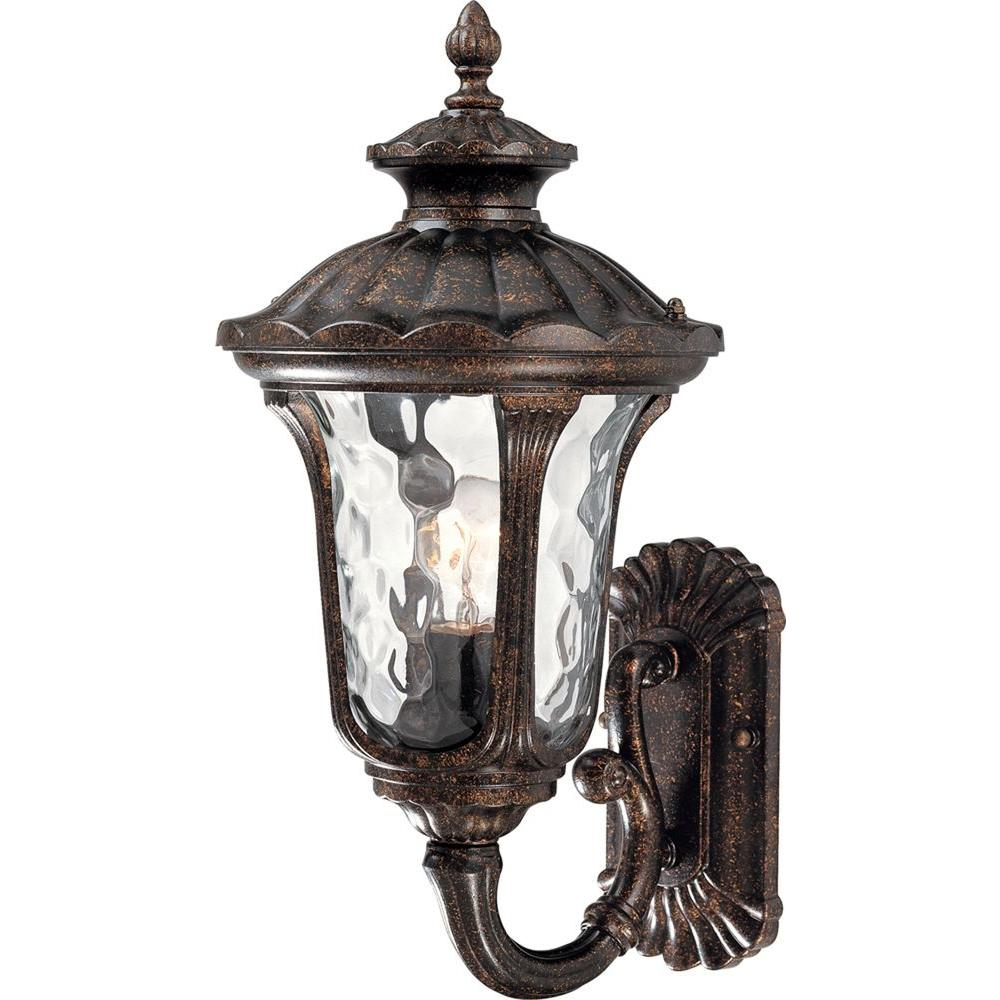 Volume Lighting 1 Light Vintage Bronze Outdoor Wall Mount Sconce