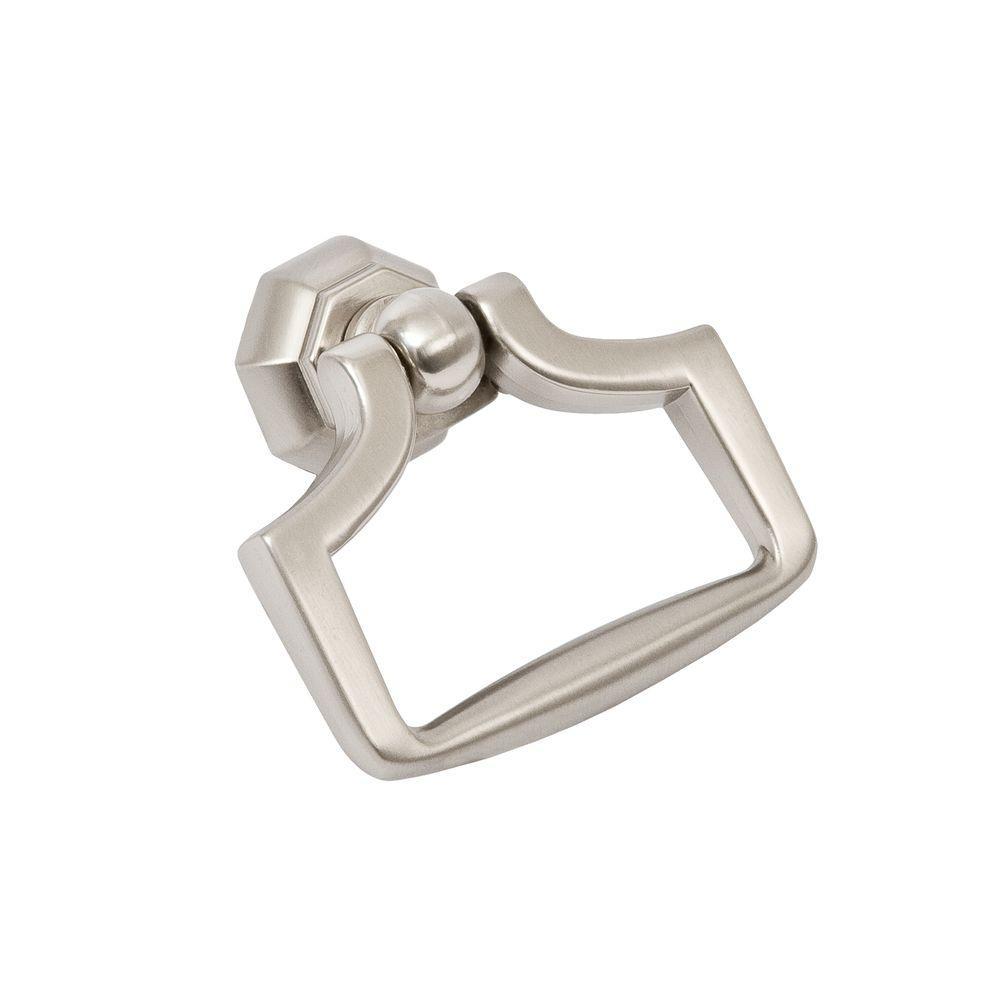 Symmetry 2-1/4 in. Octagon Satin Nickel Ring Pull