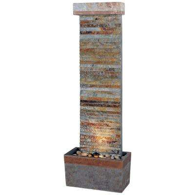 48 in. Tacora Horizontal Indoor/Outdoor Fountain