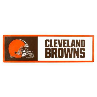 NFL Cleveland Browns Outdoor Step Graphic