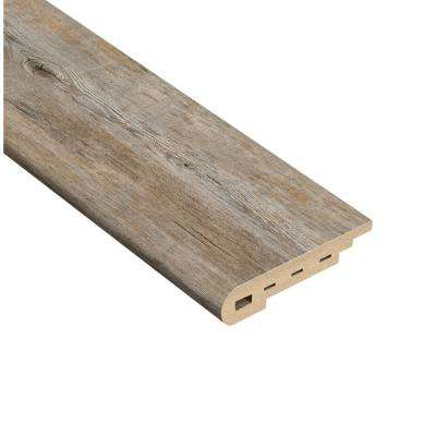 Long View Pine 1/2 in. Thick x 2 in. Wide x 94 in. Length Vinyl Stair Nose Molding