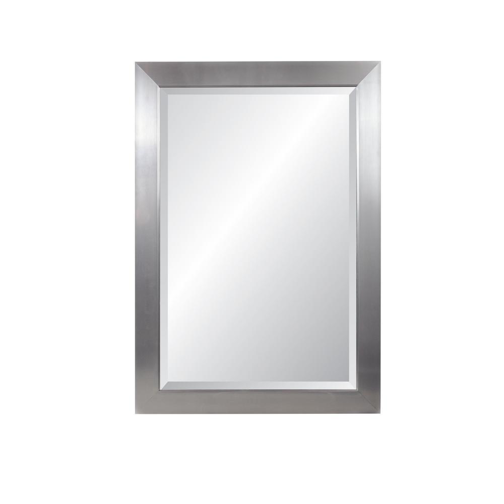 Vibe Silver Beveled Mirror