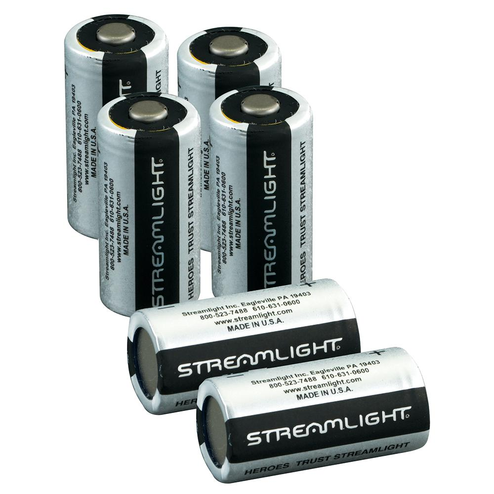Streamlight Cr123 Lithium 3 Volt Battery 12 Pack 85177 The Home