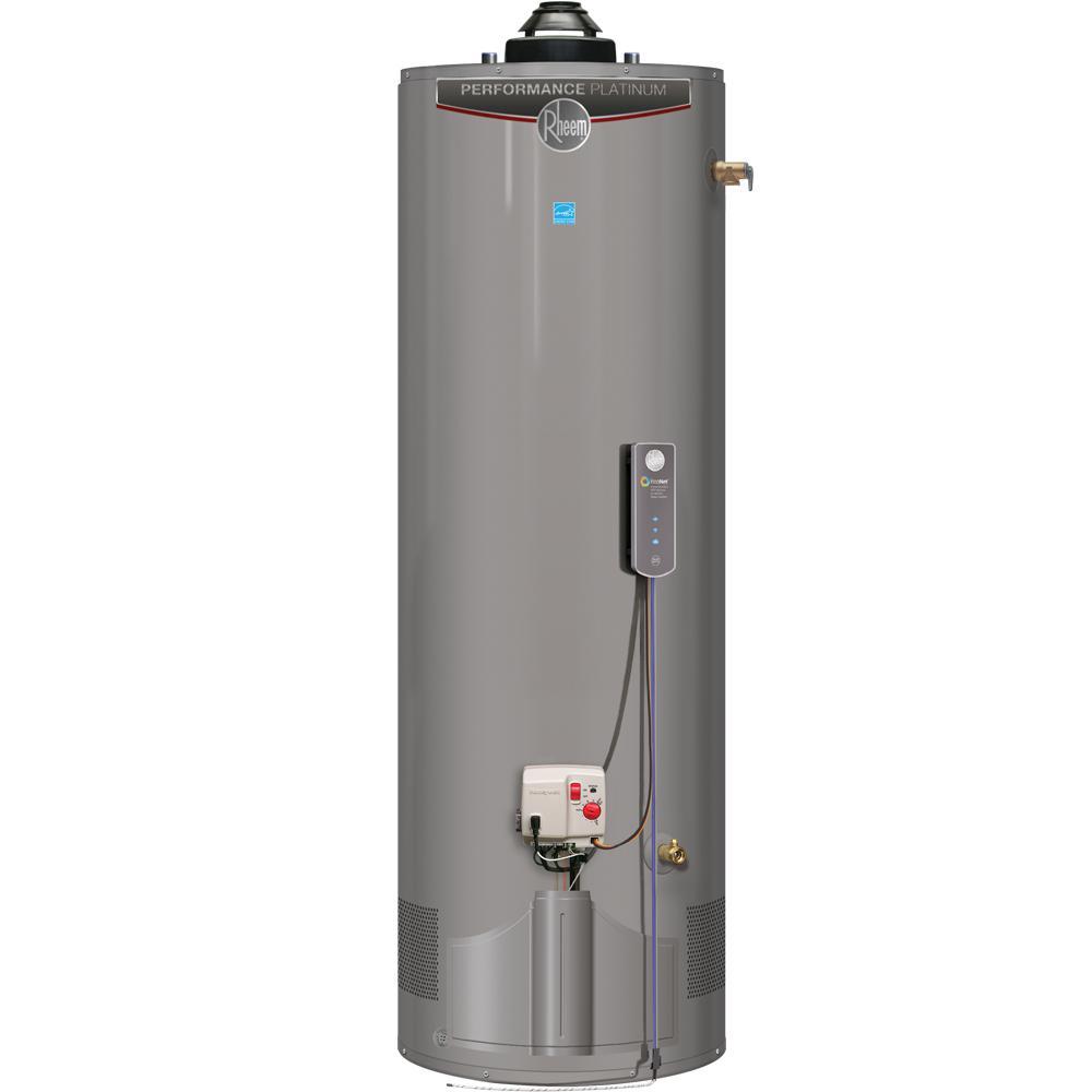 Performance Platinum 40 Gal. Tall 12 Year Warranty 38,000 BTU ULN Natural Gas Damper Water Heater with EcoNet WIFI