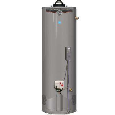 Performance Platinum 40 Gal. Tall 12 Year Warranty 38,000 BTU ULN Natural Gas Damper Water Heater with EcoNet WIFI