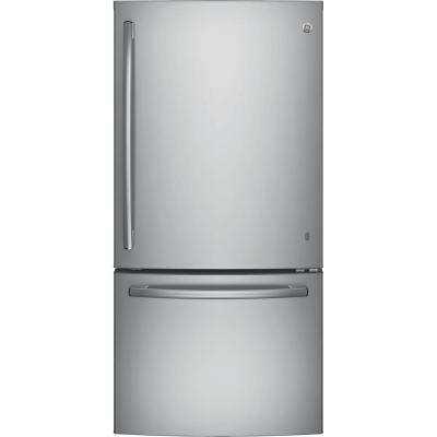 Bottom Freezer Refrigerator In Stainless Steel
