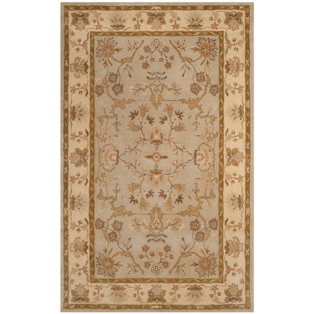 Safavieh Antiquity Grey Beige Sage 6 Ft X 9 Ft Area Rug