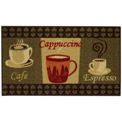 Cucina Collection 3 ft. 3 in. x 5 ft. Rubber Back Kitchen Area Rug