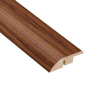 Monarch Walnut 1/2 in. Thick x 1-3/4 in. Wide x 94 in. Length Laminate Hard Surface Reducer Molding