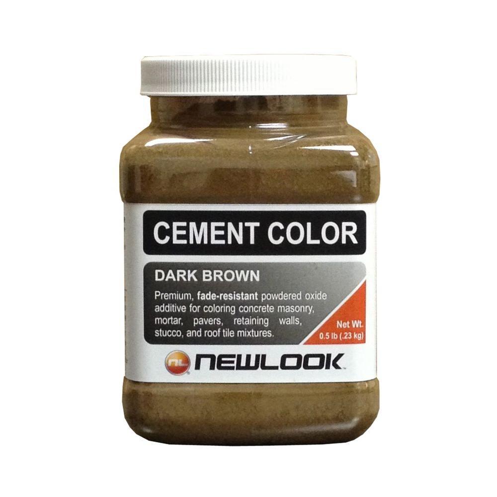0.5 lb. Dark Brown Fade Resistant Cement Color