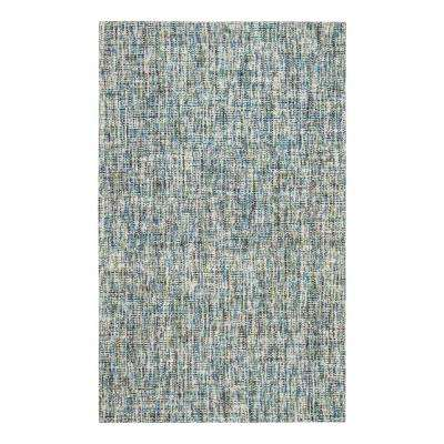 Oshun Flat Weave Blue 5 ft. x 8 ft. Area Rug