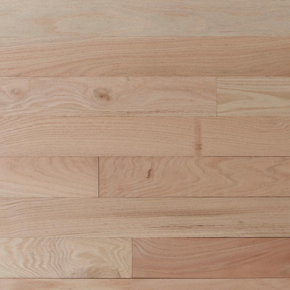 Select Red Oak 3 4 In Thick X 2 1 Wide Random Length