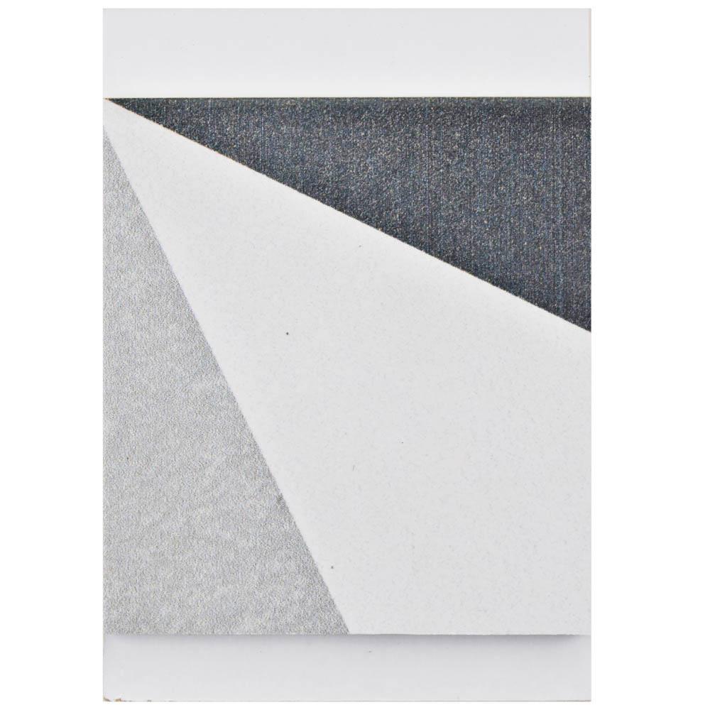 Twenties Diamond Encaustic Ceramic Floor and Wall Tile - 3 in. x 4 in. Tile Sample