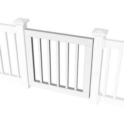 3 ft. Standard Gate Kit for Square Baluster Original Rail, Deck Rail, Porch Rail or Titan XL