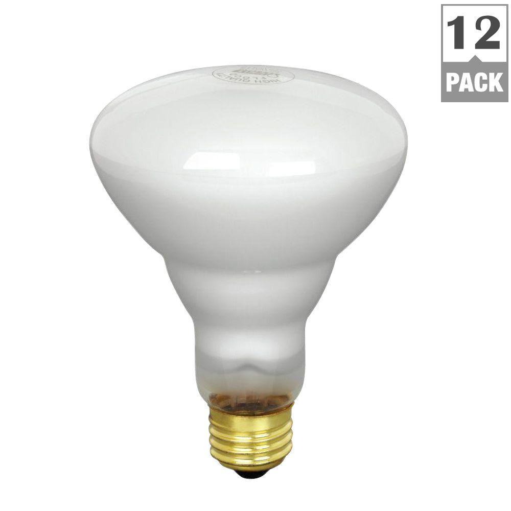 65watt soft white dimmable br30 flood light bulb