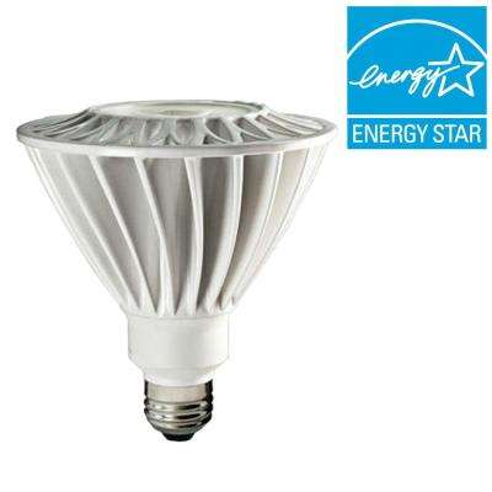 200W Equivalent Daylight (5000K) PAR38 Non-Dimmable LED Flood Light Bulb