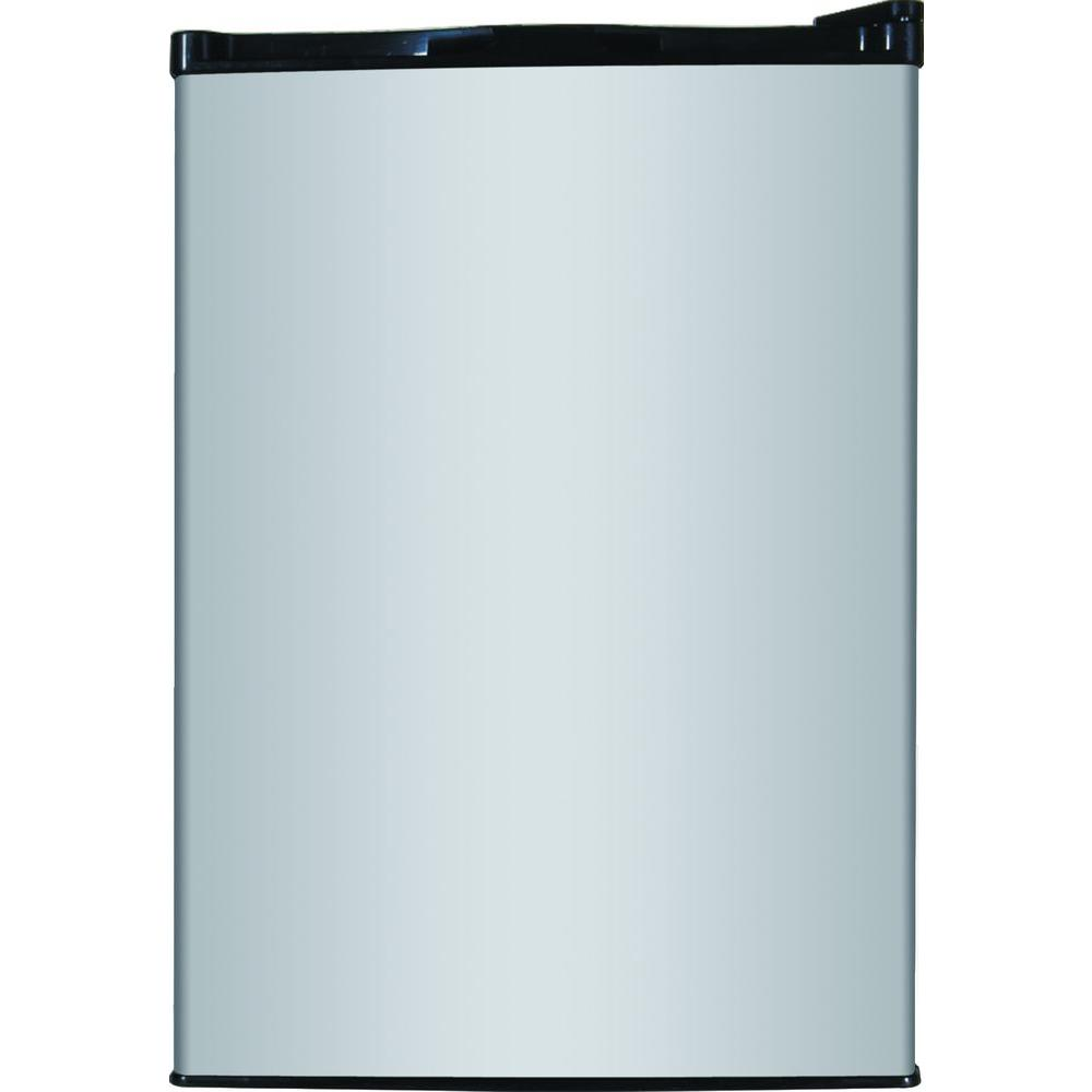 Mini Refrigerator In Stainless Look, ENERGY STAR