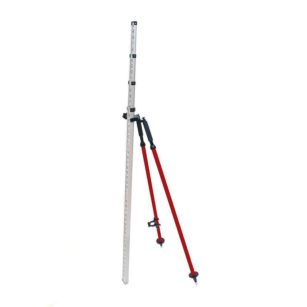 Aluminum Red Leveling Rod Bipod