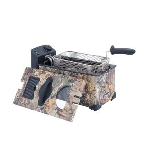 Click here to buy Magic Chef 3.17 Qt. Deep Fryer in Realtree Xtra Camouflage by Magic Chef.