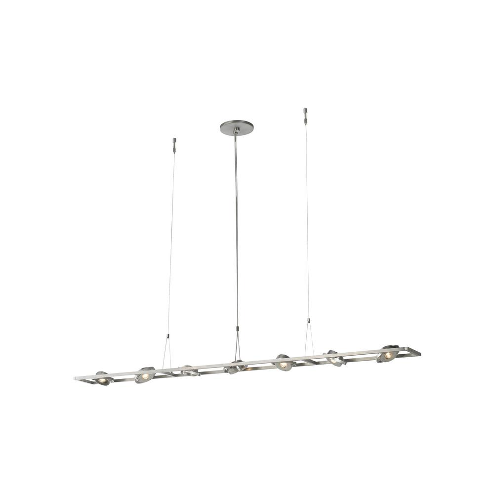 LBL Lighting Calix 49-Watt Satin Nickel Integrated LED Pendant