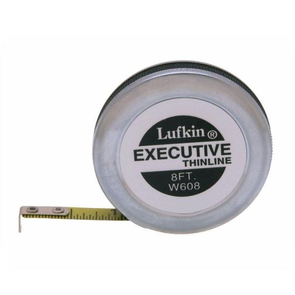 1/4 in. x 8 ft. Executive Thinline Pocket Tape Measure