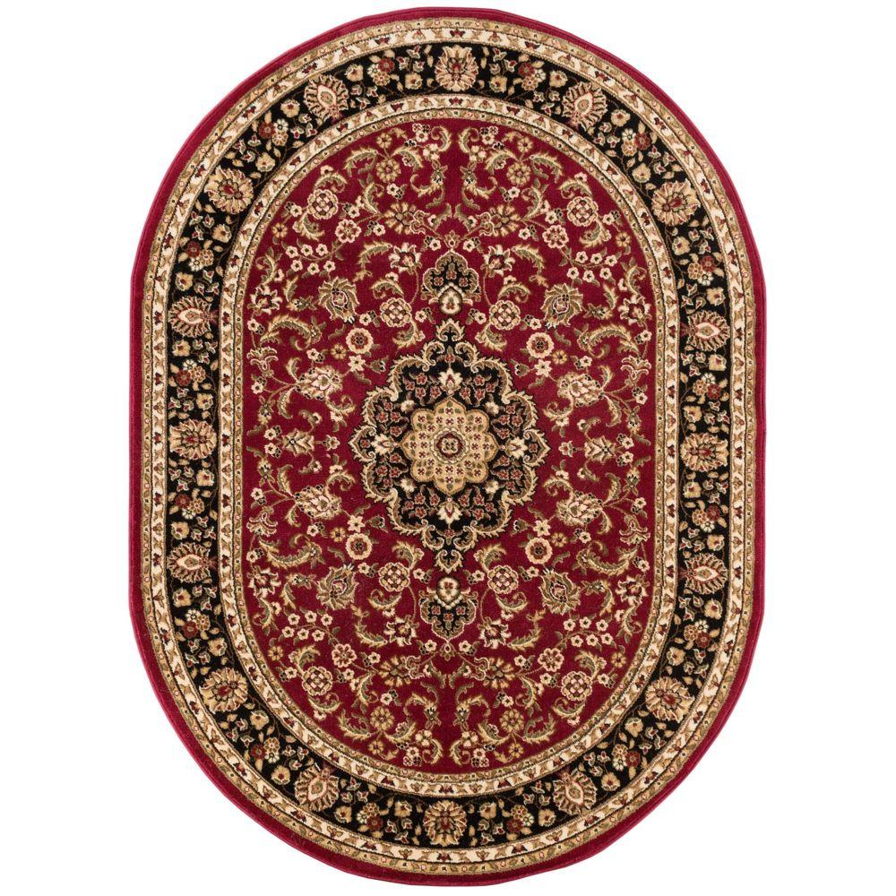 Well Woven Barclay Medallion Kashan Red 7 Ft. X 10 Ft