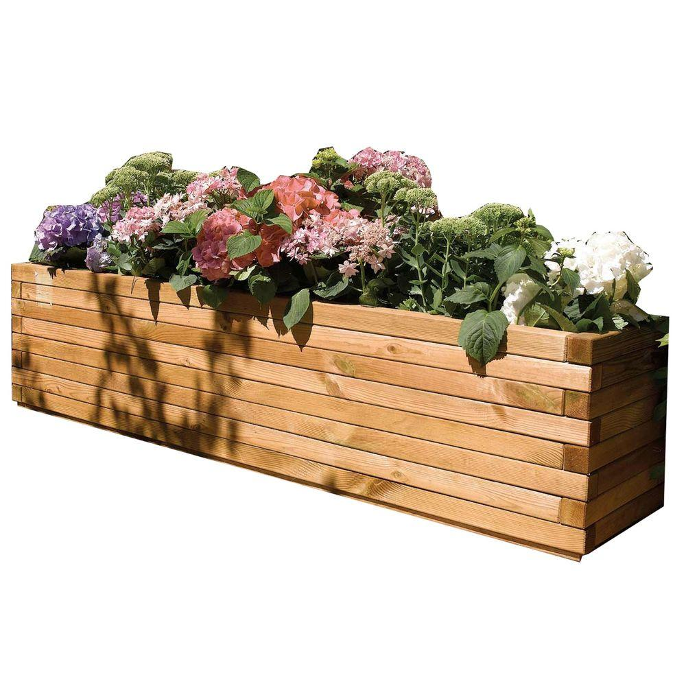 bosmere english garden 70 in w x 15 in d x 15 in - Wood Planters