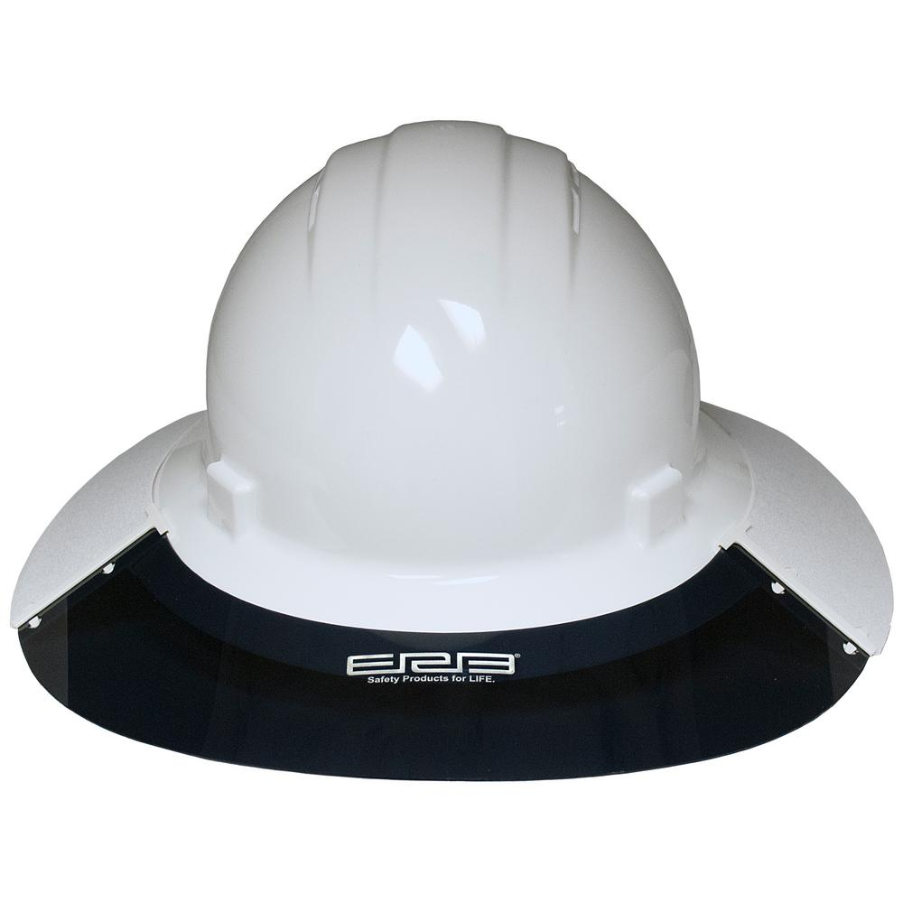 ERB AS5E Omega II Sun Shield in White and Gray
