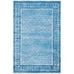 Adirondack Silver/Blue 5 ft. x 8 ft. Area Rug