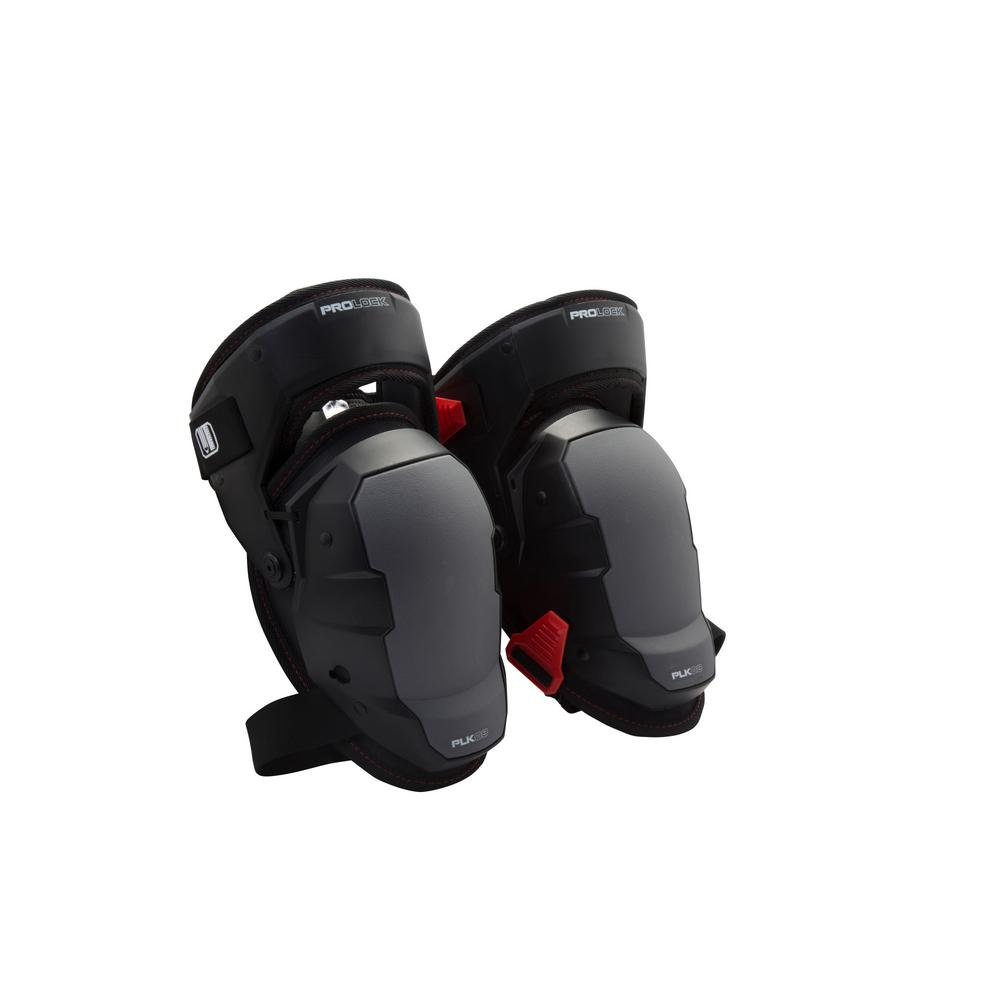 PROLOCK Professional Black Gel Thigh Support Stabilization Safety Knee Pads
