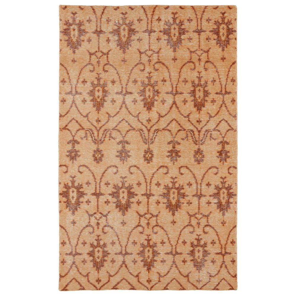Kaleen Restoration Paprika 9 ft. x 12 ft. Area Rug