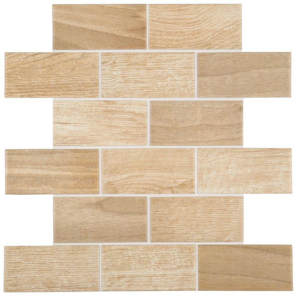 Daltile parkwood beige 12 in x 12 in x 6 mm ceramic brick joint daltile parkwood beige 12 in x 12 in x 6 mm ceramic brick dailygadgetfo Gallery
